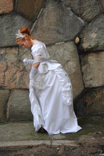 Viktoriansk klänning Sysidans forum